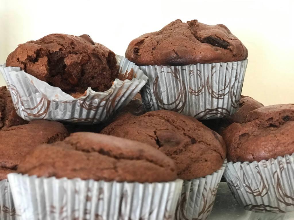 Goji Berry Chocolate Muffins